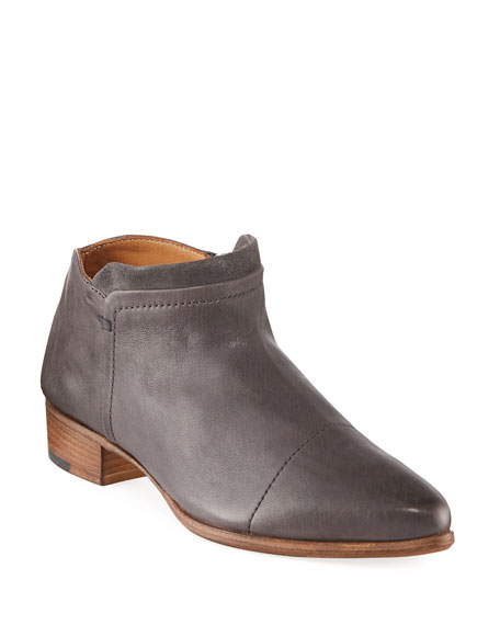 Alberto Fermani Serafina Leather Ankle Boot