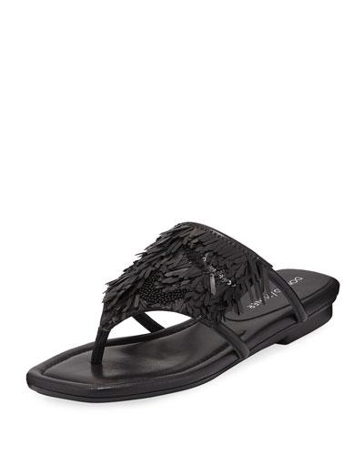 d4333979bc8 Donald J Pliner Rajaa Toe Ring Embellished Sandal