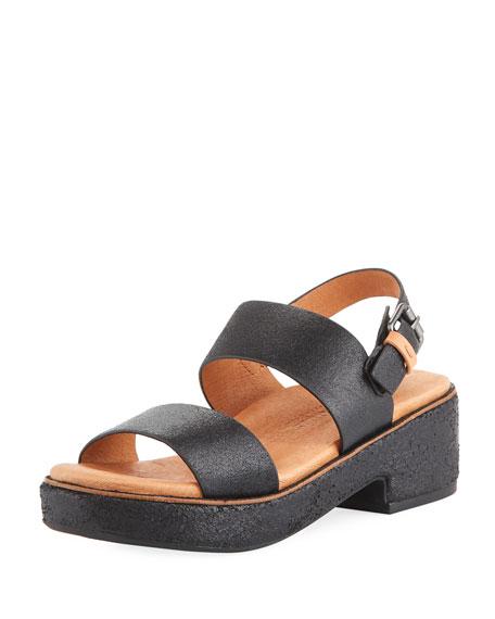 Talia Comfort Platform Sandal