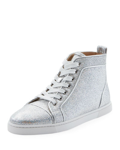 Christian Louboutin Bip Bip Woman Orlato High-Top Sneaker