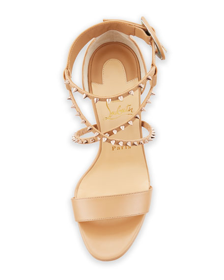 Choca Lux High Red Sole Sandal