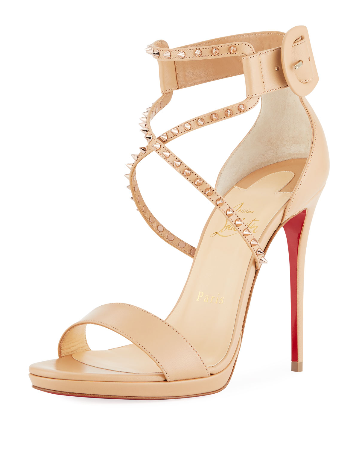 detailed look 9b2ed 3912e Choca Lux High Red Sole Sandal