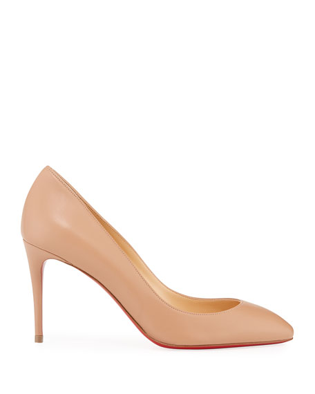 Eloise 85mm Napa Leather Red Sole Pumps