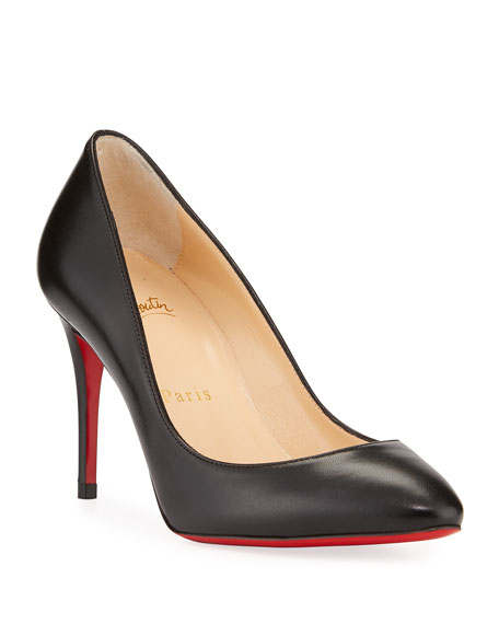 Christian Louboutin Eloise 85mm Napa Leather Red Sole