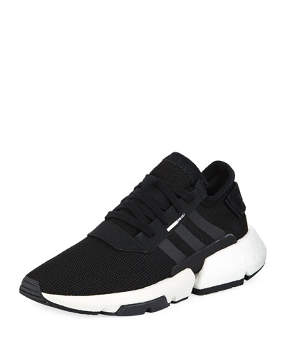 POD Knit Lace-Up Trainer Sneaker