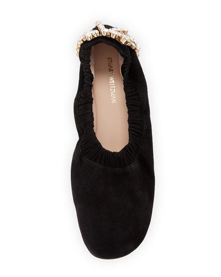 Dixie Embellished Ballet Flat