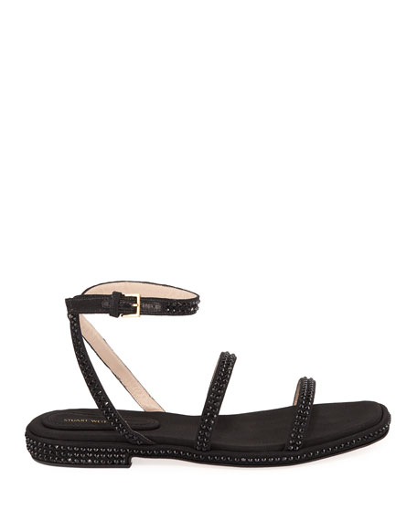 Starlight Crystal Strappy Sandal
