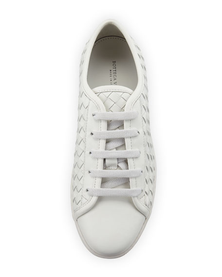Speedster Woven Calf Leather Low-Top Sneakers