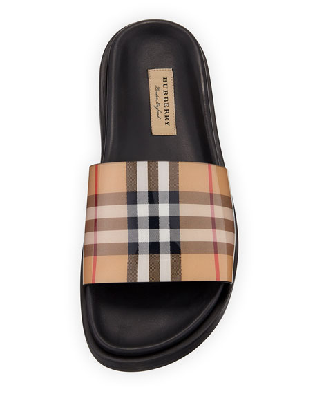 14962777452 Image 3 of 3  English Icons Vintage Check Slide Sandal