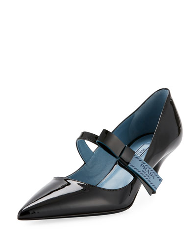 Patent Leather Mary Jane Pump