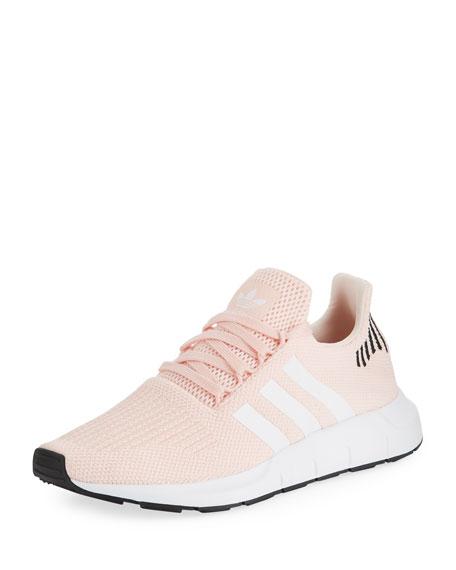 Adidas Women's Swift Run Trainer Sneaker, Icey Pink