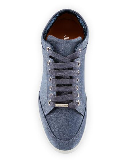 Miami Glitter Platform Sneakers