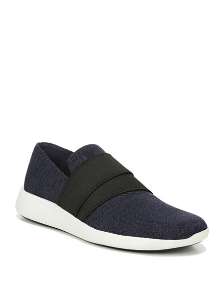 Aston Marled Knit Fabric Slip-On Sneakers