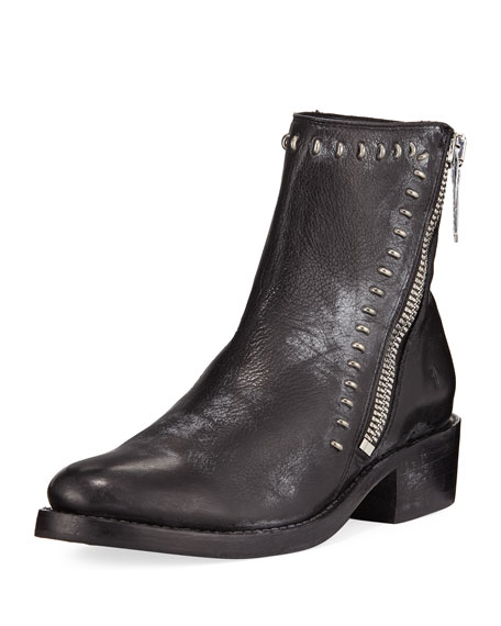 Demi Rebel Zip Bootie