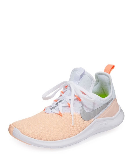 Free FlyKnit Colorblock Trainer Sneakers