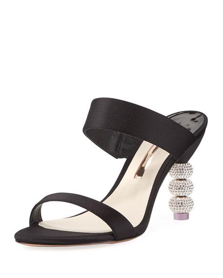 Sophia Webster Jumbo Rosalind Ball-Heel Slide Sandal