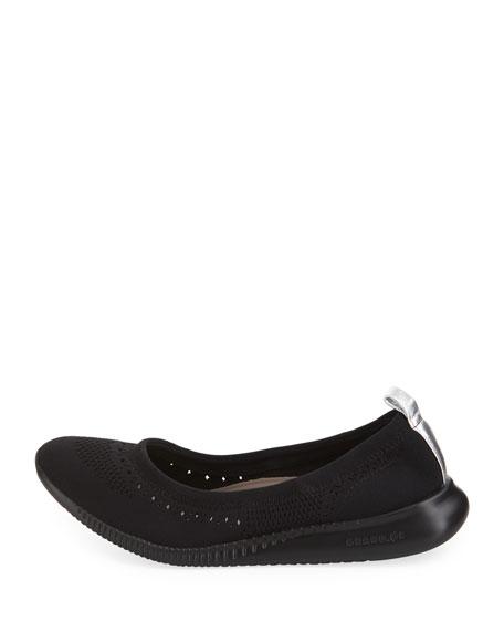 ZeroGrand Stitchlite™ Ballet Flats, Black