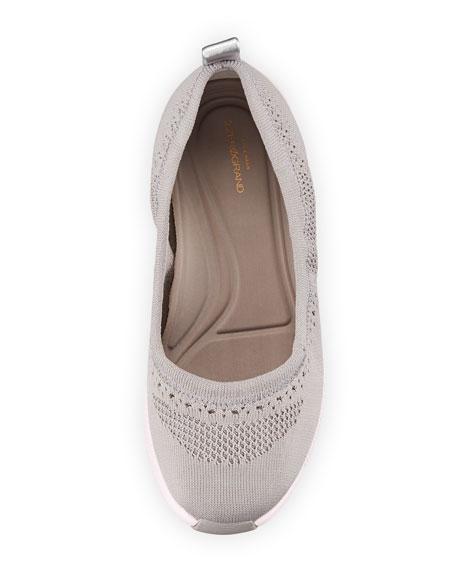 ZeroGrand Stitchlite™ Ballet Flats, Gray