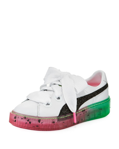 Puma x Sophia Webster Candy Princess Leather Sneaker