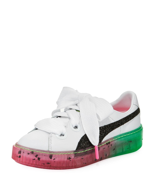 36f7e3fb3ca3 Puma x Sophia Webster Candy Princess Leather Sneakers