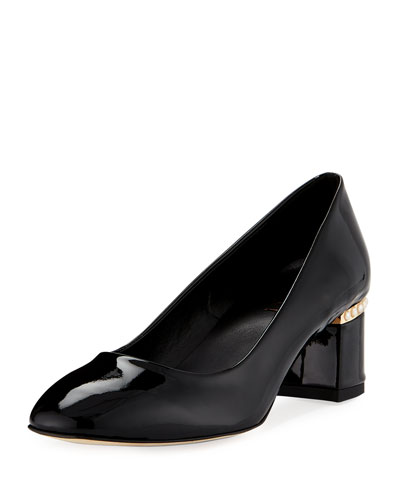 Meta Patent Pearly Pump, Black