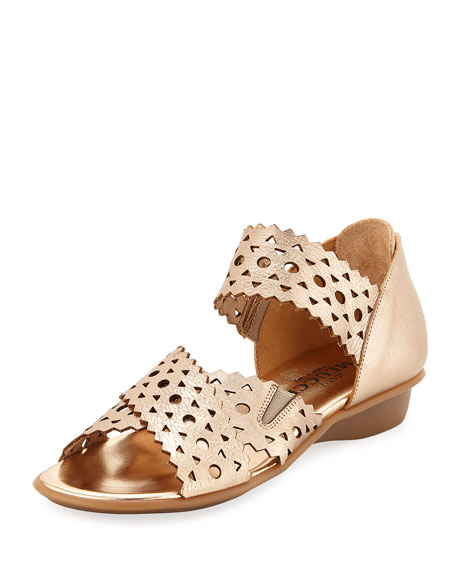 Sesto Meucci Evie Perforated Comfort Sandal