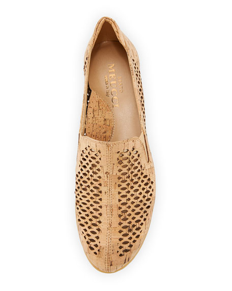 Byra Perforated Cork Comfort Loafer