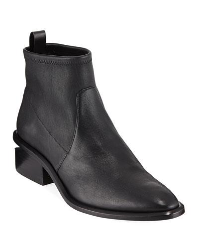 Kori Stretch Leather Bootie