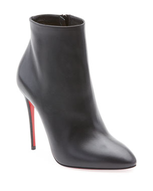 686c43391e4f5a Christian Louboutin Eloise Leather Red Sole Booties