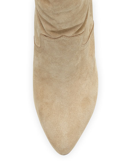 Gabbissy Slouchy Suede Mid-Calf Boot