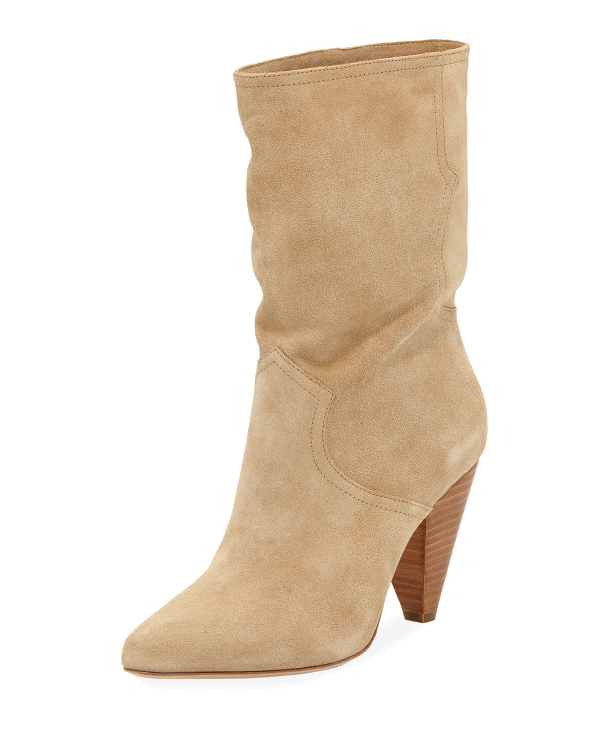 cheap sale high quality Joie Round-Toe Suede Mid-Calf Boots online cheap online new styles for sale official sale online SnR5Wh04d