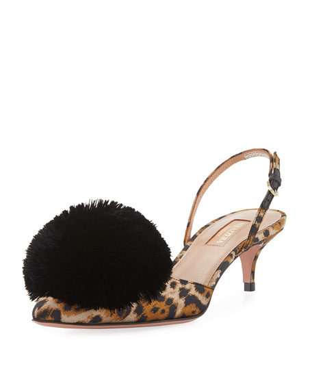 Aquazzura Powder Puff Slingback Pump