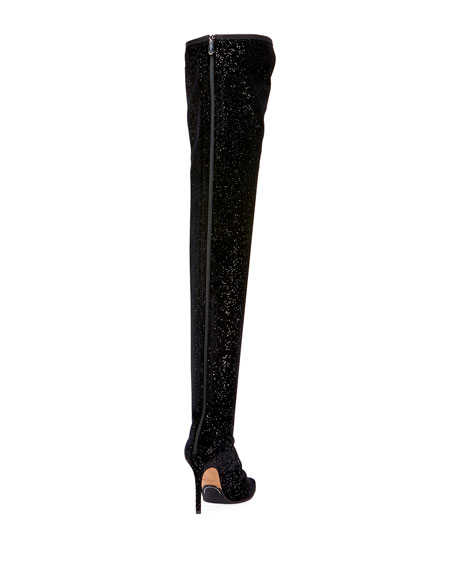 Amazone Glitter Over-The-Knee Boot