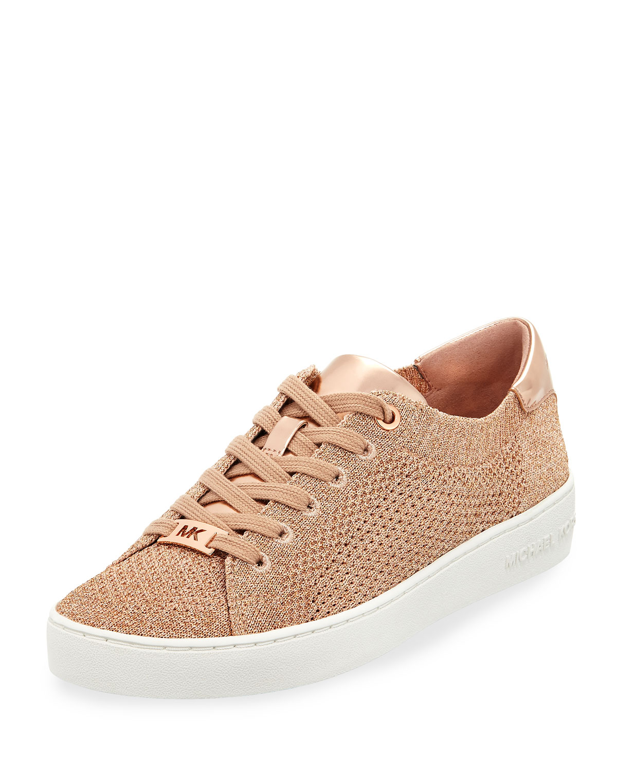 6edf58c1068b5 MICHAEL Michael Kors Skyler Metallic Lace-Up Low-Top Sneakers ...