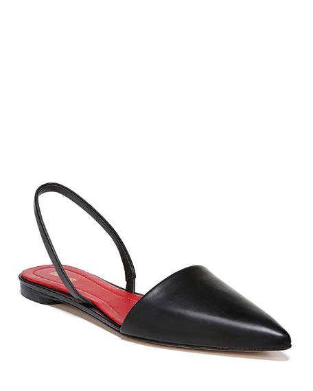 Diane von Furstenberg Koko Slingback Ballet Flats, Black