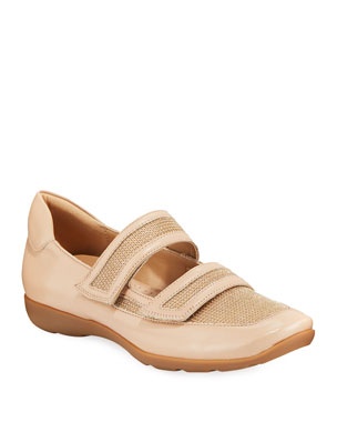 5211e64aed6 Sesto Meucci Gyan Napa Leather Mary Jane Sneakers