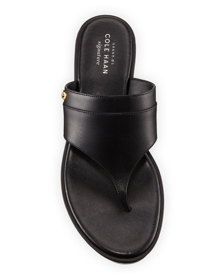 Cecily Grand Wedge Thong Sandal