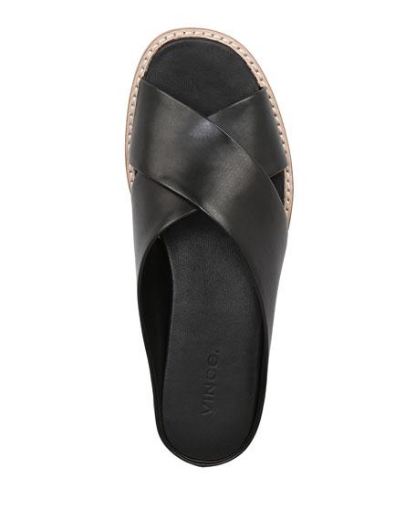 Fairley Leather Wedge Sandal