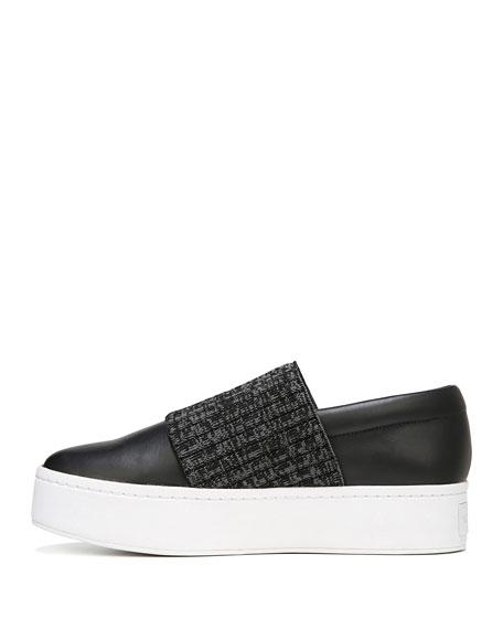 Weadon Leather Platform Sneakers