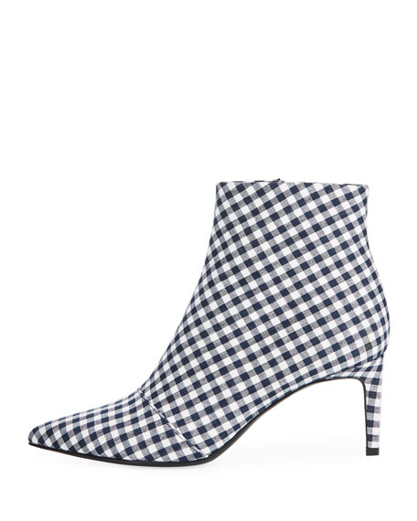 Beha Gingham Ankle Boot