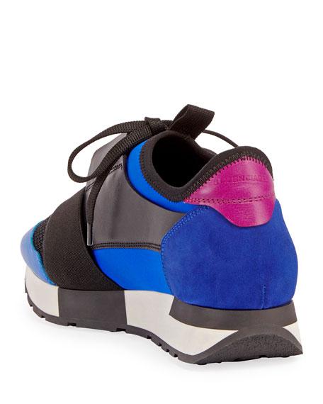 Race Colorblock Sneakers