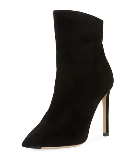 Hurley Convertible Leather/Suede Knee Boots/Booties