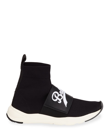 Cameron Pull-On Logo Sneakers