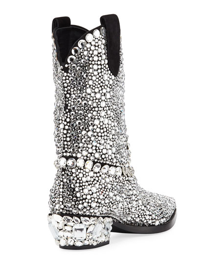 30mm Crystal Western Boot