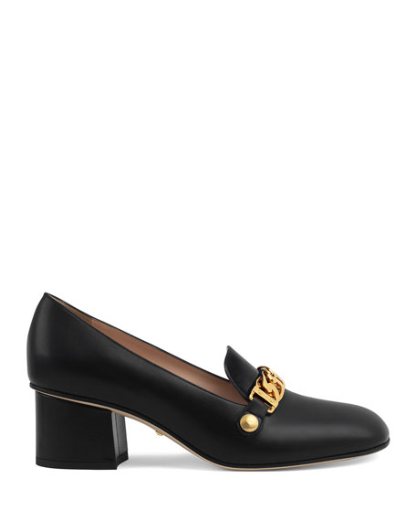 Sylvie 55mm Leather Loafer