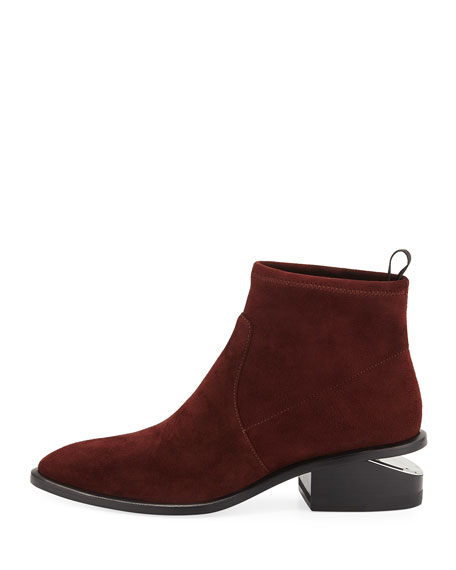 Kori Stretch Suede Booties