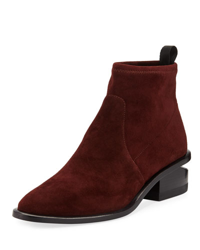 Kori Stretch Suede Bootie