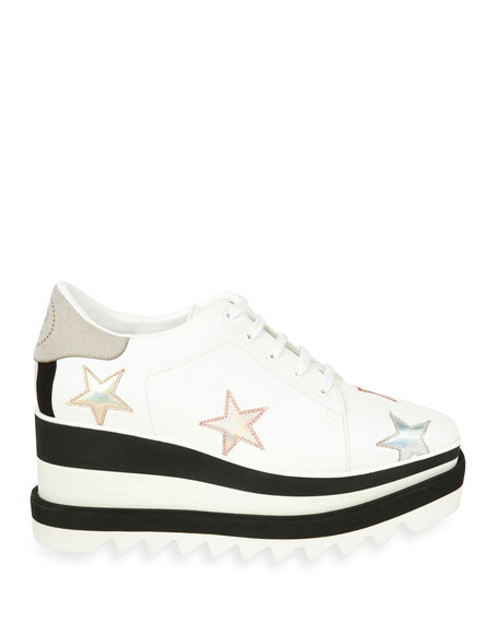 Elyse Stars Platform Sneaker