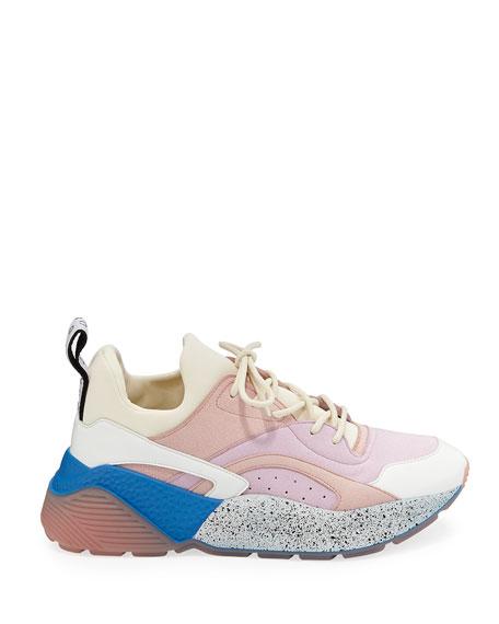Eclypse Colorblock Lace-Up Sneakers