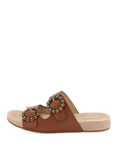 Ryder Leather Slide Sandal